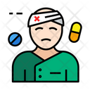 Patient Medical Treatment Icon