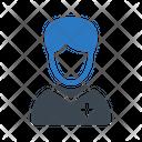 Patient Avatar Man Icon