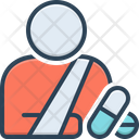 Patient Sick Person Sufferer Icon