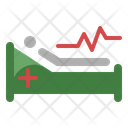 Patient Hospital Bed Ward Icon