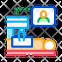 Patient Online Health Icon