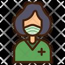 Patient Coronavirus Doctor Icon
