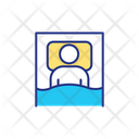 Patient Resting Relaxation Icon
