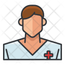 Patient Medical Man Icon