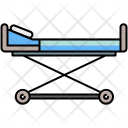 Hospital Patient Bed Icon