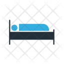 Patient Bed Healthcare Icon