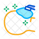 Patient Anesthesia Scalpel Icon