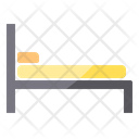 Bed Hostel Patient Bed Bed Icon