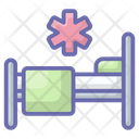 Patient Bed Bedroom Furniture Icon