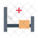 Patient Bed Clinic Icon