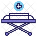 Patient Stretcher Hospital Icon