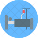 Patient Bed Hospital Room Hospital Bed Icon