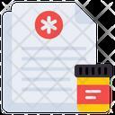 Patient Card Prescription Rx Icon