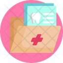 Healthcare Clinic Patients File Icon