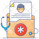 Medical Record Patient Record Patient File Icon