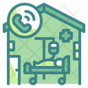 Patient House Bed Call Icon