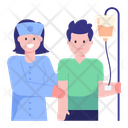 Patient Infusion Icon