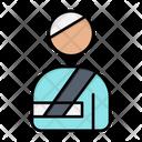 Patient Injured Icon