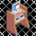 Medical Equipment Monitoring Machine Medical Machine Icon