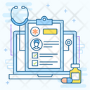 Patient Report Patient Card Health Report Icon