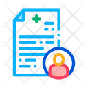 Patient Medical Record Icon