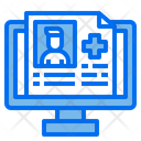 Patient Report Medical Report File Icon