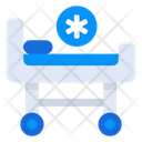 Stretcher Medical Instrument Emergency Bed Icon