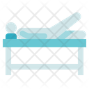 Physiotherapy Patient Therapy Bed Icon