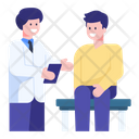Patient Treatment Patient Checkup Medical Checkup Icon