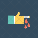 Finger Injury Bleeding Icon