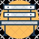 Patio Bench Icon