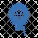 Patricks Balloon Balloon Shamrock Icon