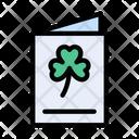 Saint Card Invitation Icon