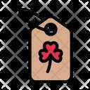 Tag Label Saint Icon
