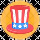 American Cap American Hat Patriot Cap Icon