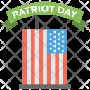 Patriot Day Celebration Icon