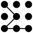 Pattern Security Lock Icon