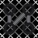 Pattern Lock Gesture Icon