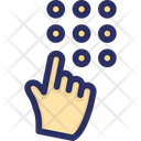 Code Pin Security Icon