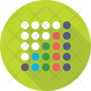 Seamless Pattern Dots Icon