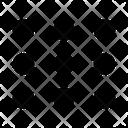 Keypad Pattern Security Icon