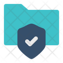 Pattern Lock Secure Icon