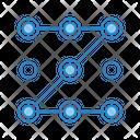 Pattern Lock Pin Icon