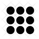Pattern Lock Protection Icon