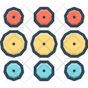Pattern Little Narrowly Icon