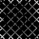 Pattern Pin Pincode Icon