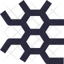 Pattern Seamless Hexagons Icon