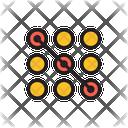Pattern Lock Password Pattern Icon