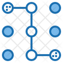 Pattern Lock Password Lock Icon
