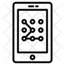 Security Pattern Mobile Icon